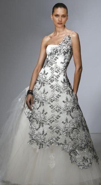 Imagenes de vestidos de novia en colores