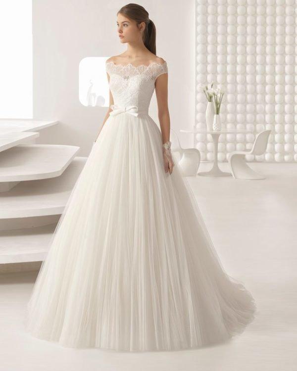 Vestidos De Novia De Princesa 2019 Tendenziascom