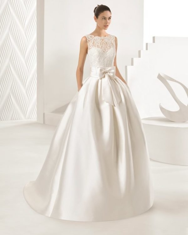 Vestidos de novia princesa con encaje