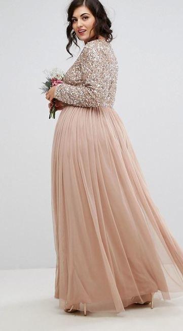 Vestidos largos para invitados de boda