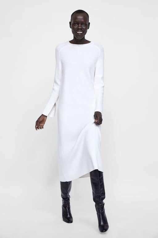 Blanco vestidos invierno 2019