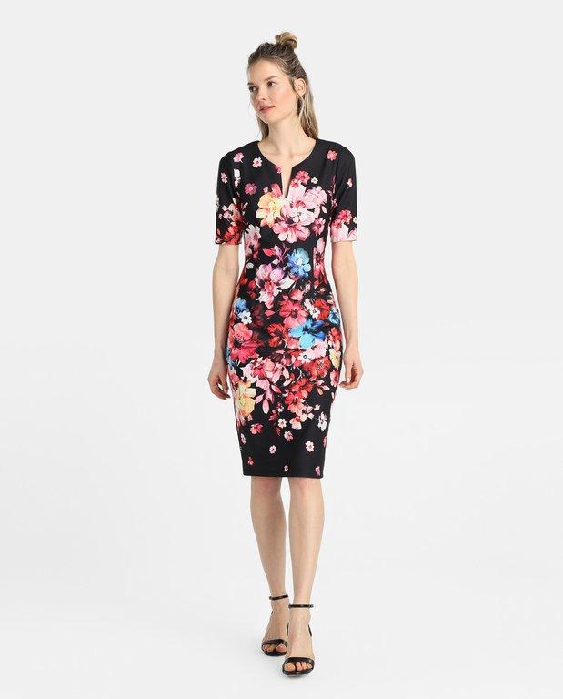 Modelo de vestido corto 2019