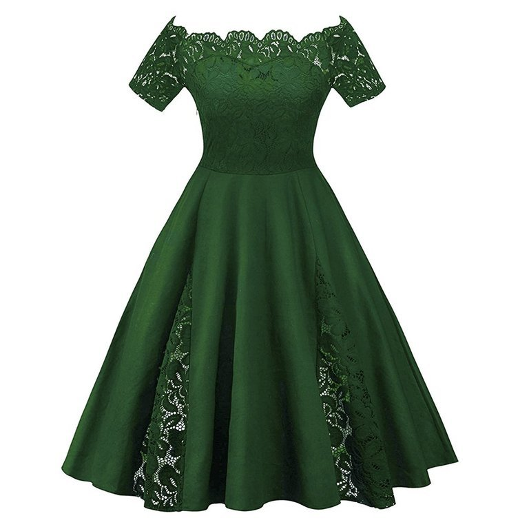 af89eb290 Este vestido de fiesta corto está disponible hasta en 5XL. Inspiración  Adele