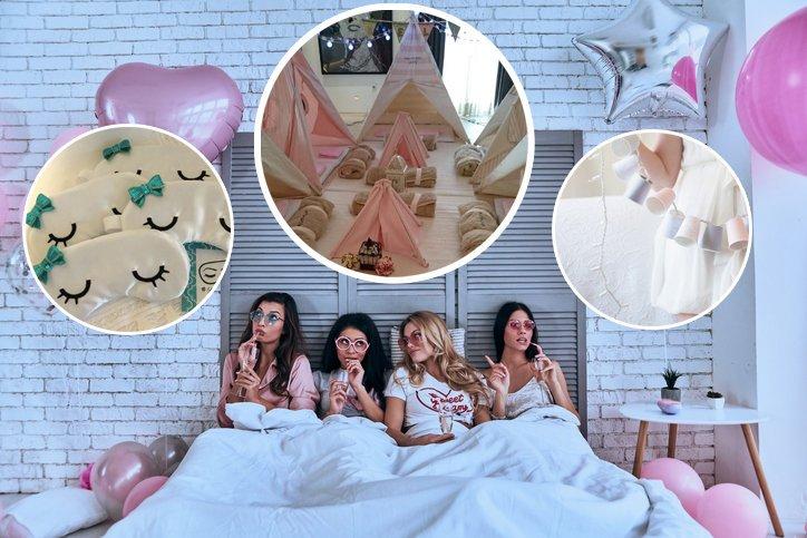 2a22ccee4 Fiesta de pijamas ¿cómo hacerla perfecta  ¡Que no te falte esto!
