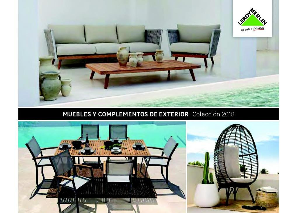 Muebles para terraza y jard n de leroy merlin 2019 - Muebles lavadero leroy merlin ...