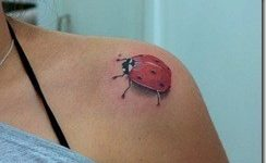 Tatuajes para mujeres, las mariquitas
