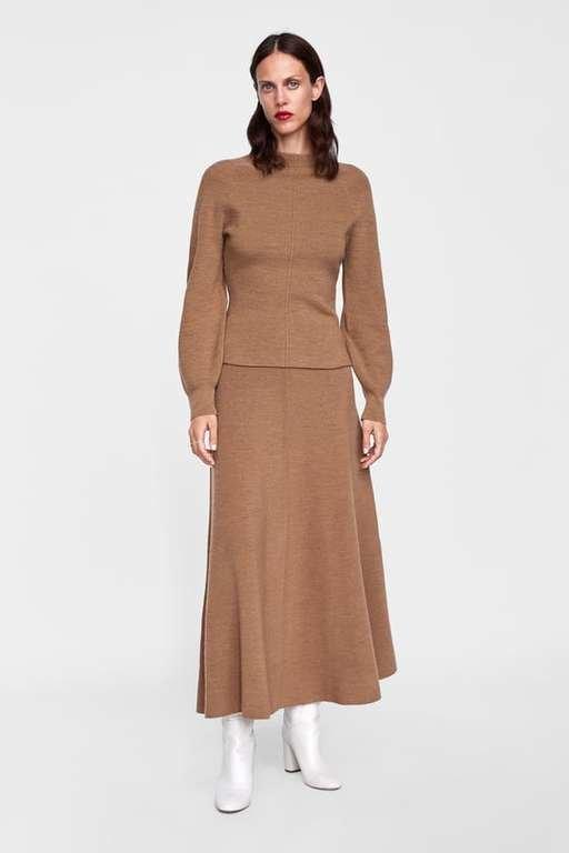 catalogo-zara-mujer-falda-minimal-collection
