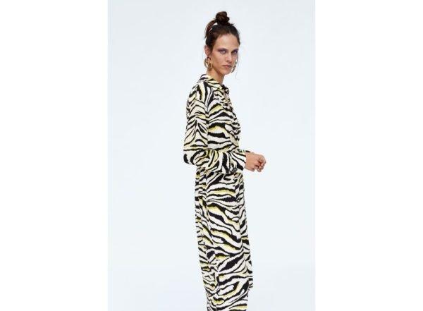 catalogo-zara-mujer-vestido-estampado-cebra