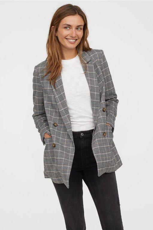 hm-mujer-otono-invierno-chaqueta-doble-botonadura-cuadros