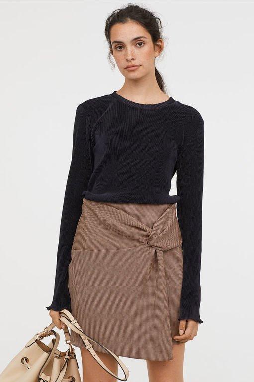 hm-mujer-otono-invierno-falda-de-punto-con-nudo