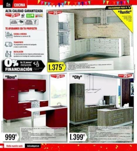 Catálogo Brico Depot Cocinas Enero 2019 - Tendenzias.com