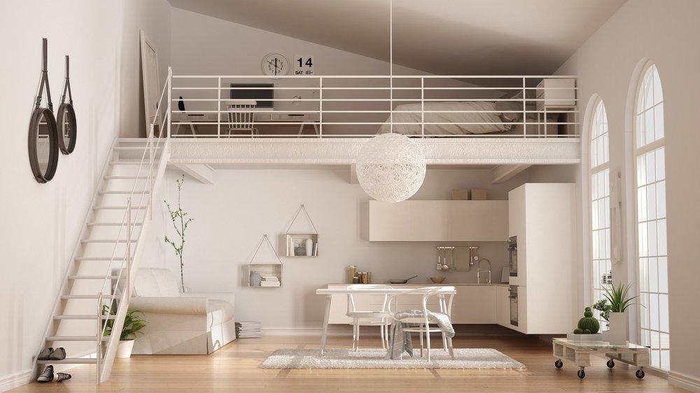 Como Decorar Lofts Modernos 2018 Tendenziascom - Decoracion-de-loft-pequeos