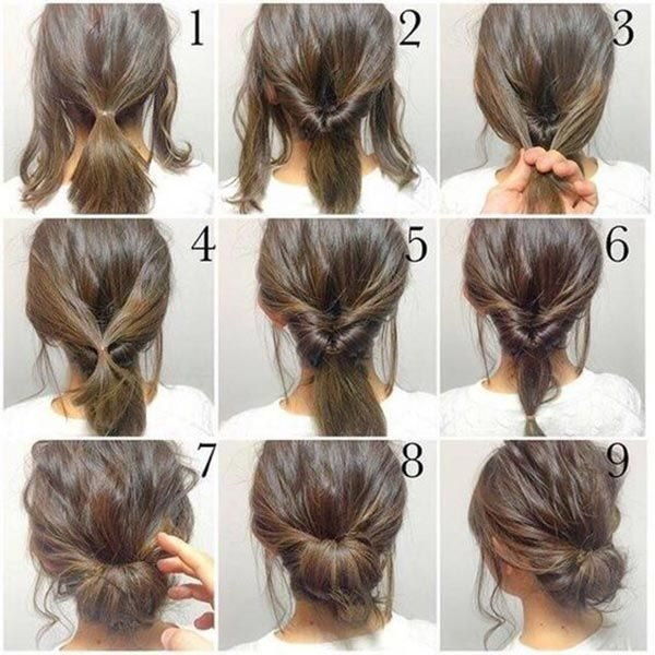Peinados faciles e hacer