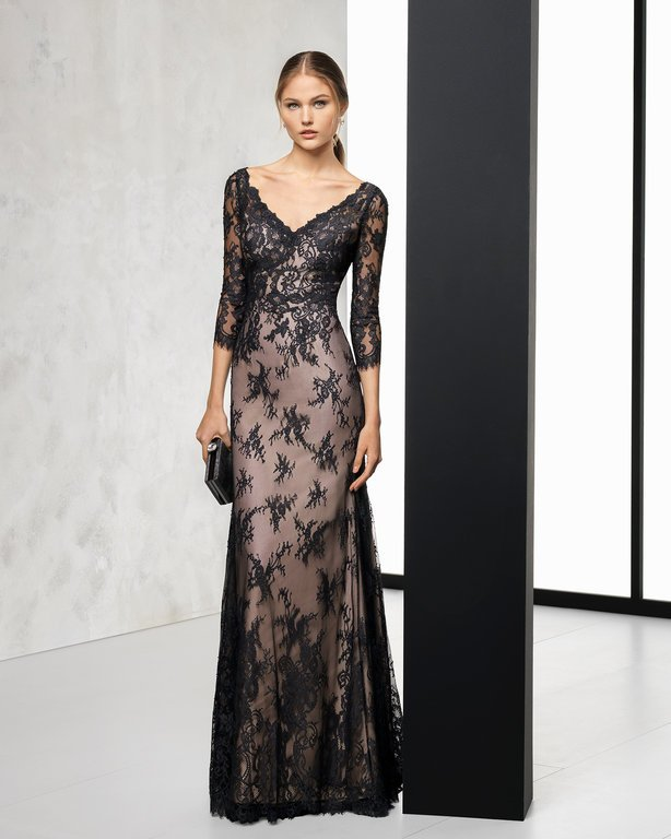 4b278ecbe ... con un diseño entallado que resulta perfecto para las bodas de  Primavera Verano. Un vestido de manga larga que además os puede servir para todo  tipo ...