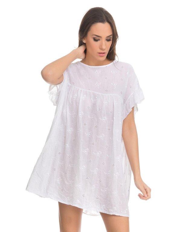 d48bba998fa8 Vestidos de fiesta blancos Primavera Verano 2019 - Tendenzias.com