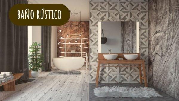 ideas de decoración moderna de baño Fotos De Ideas De Decoracin Para Baos Rsticos Modernos
