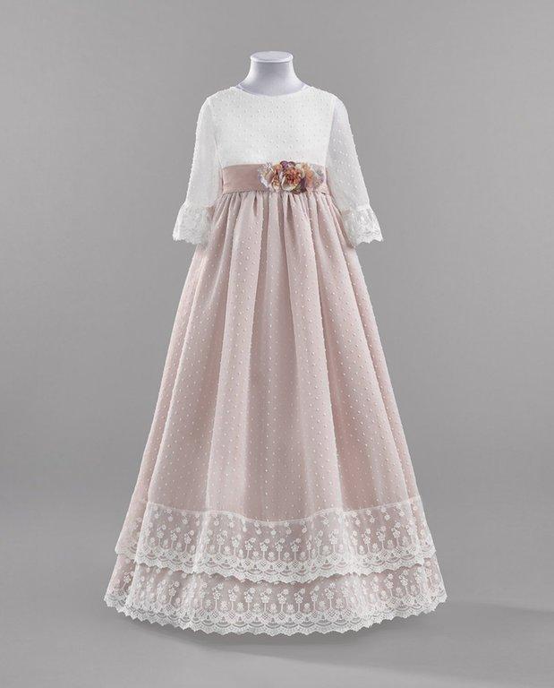Vestidos de primera comunion modernos para gorditas