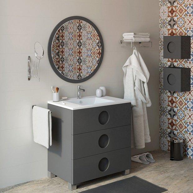 También Podemos Destacar Dentro Del Catálogo Los Muebles De Baño Que  Cuentan Con Un Estilo Muy Moderno, Pero Que Además Se Presentan En Tonos  Tan De Moda ...
