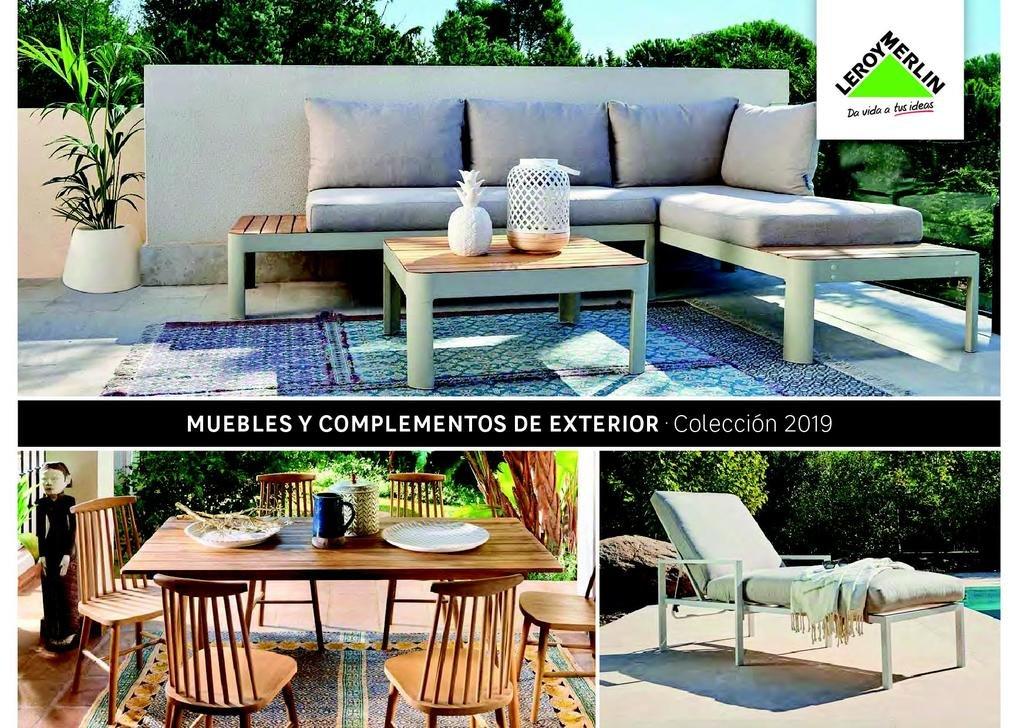09051ce5 En el catálogo que os mostramos a continuación podréis ver más de 132  páginas sobre muebles para terraza y jardín de Leroy Merlin.