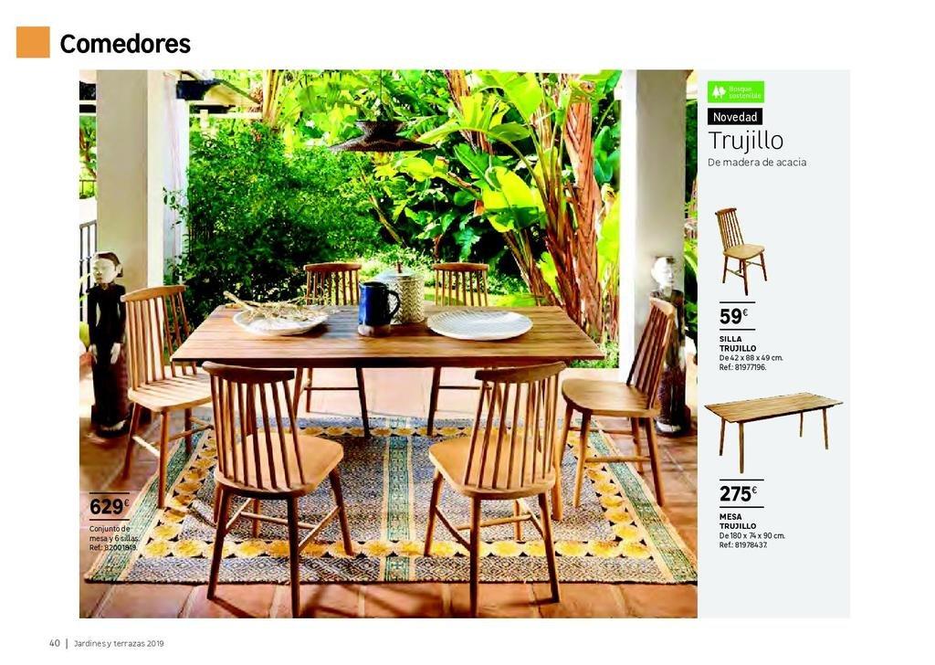 Muebles para terraza y jardín de Leroy Merlin 2019 - Tendenzias.com