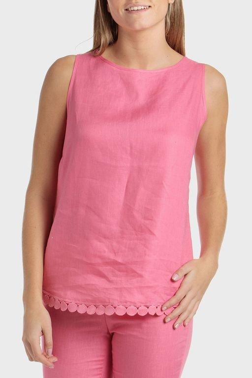 punto-roma-blusa-lino-rosa
