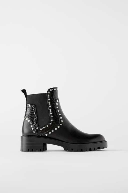botas y botines zara mujer 2018