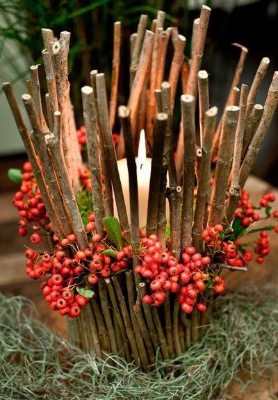 decorar-mesa-en-navidad-muerdago-trucosyastucias