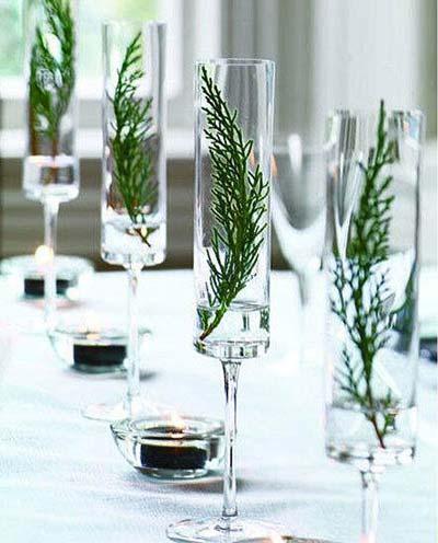 decorar-mesa-en-navidad-pino-copa-trucosyastucias