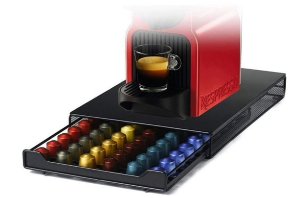 Cajón de almacenamiento para cápsulas Nespresso