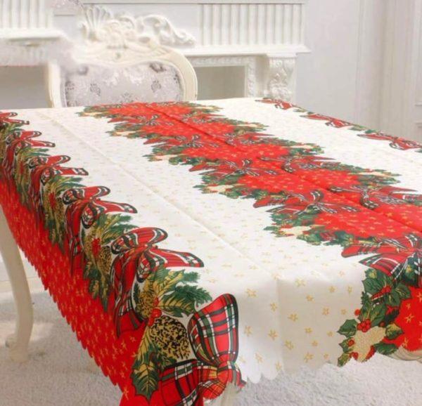 Mantel navideño tradicional de Amacoam