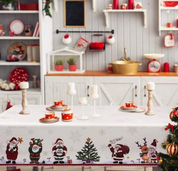 Mantel navideño decorativo de BESTonZON