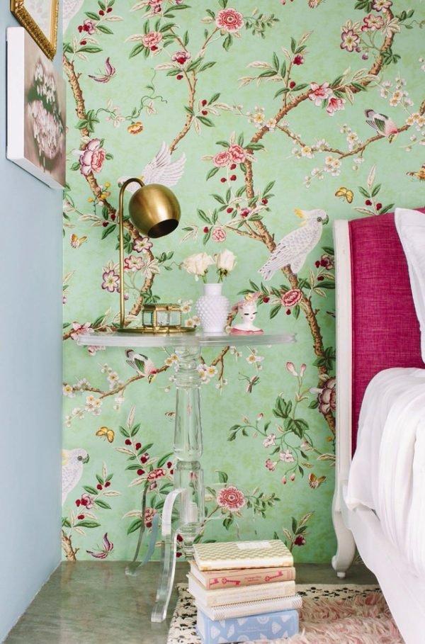 Auténticas paredes florales