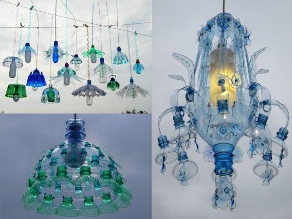 ideas-para-reciclar-botellas-de-plastico-lamparas-umadecoracion