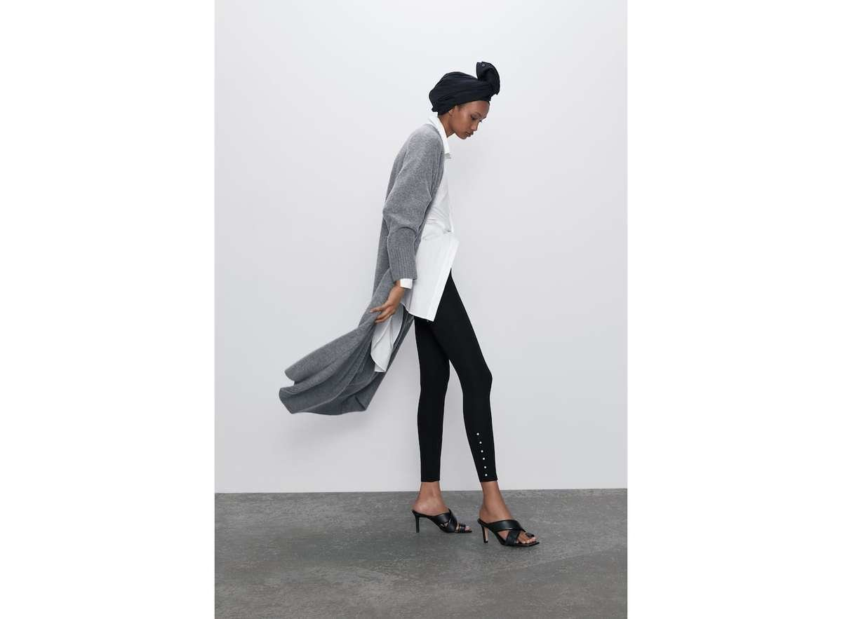 catalogo-zara-mujer-pantalones-legging-de-perlas