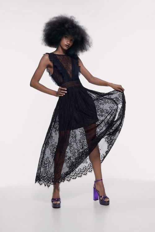 vestidos-de-fiesta-zara-2020-combinado-de-encajes-negro