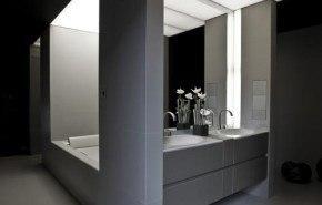 Colección de muebles de baño de Armani