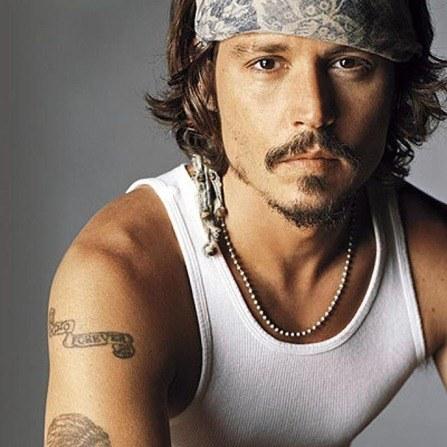 Johnny Depp |sus tatuajes
