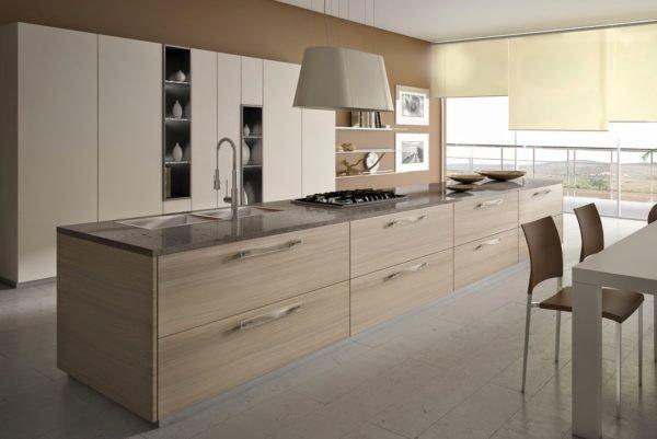 50-ideas-combinar-los-colores-la-cocina-modelo-scic-muebles-marron-claro