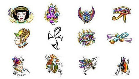diseños de tattoos egipcios