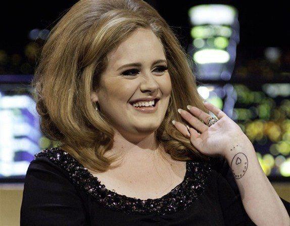 tatuajes de Adele