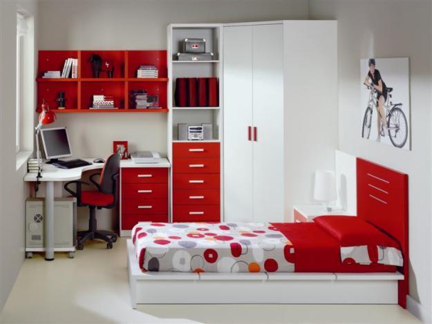 Muebles juveniles 2014 - Cortinas para dormitorio juvenil ...