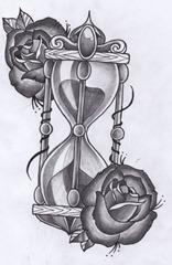 Best Dibujos De Relojes De Arena Para Tatuar Image Collection