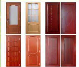 Puertas en madera for Modelos de puertas principales para casas