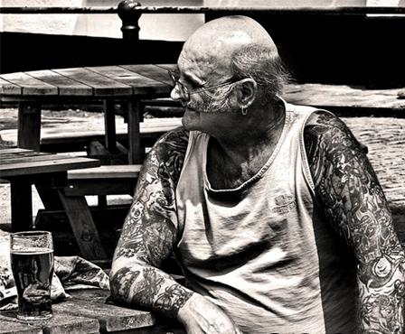 tatuajes en gente mayor