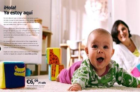 Catálogo Ikea 2011 , bebés