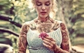 Famosos tatuados gracias al Photoshop