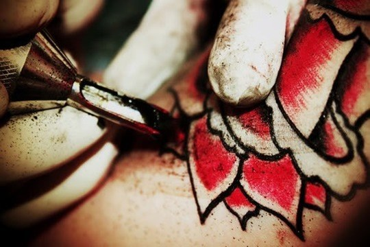 Color del tatuaje