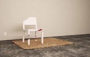 Una silla perfecta que parece estar rota