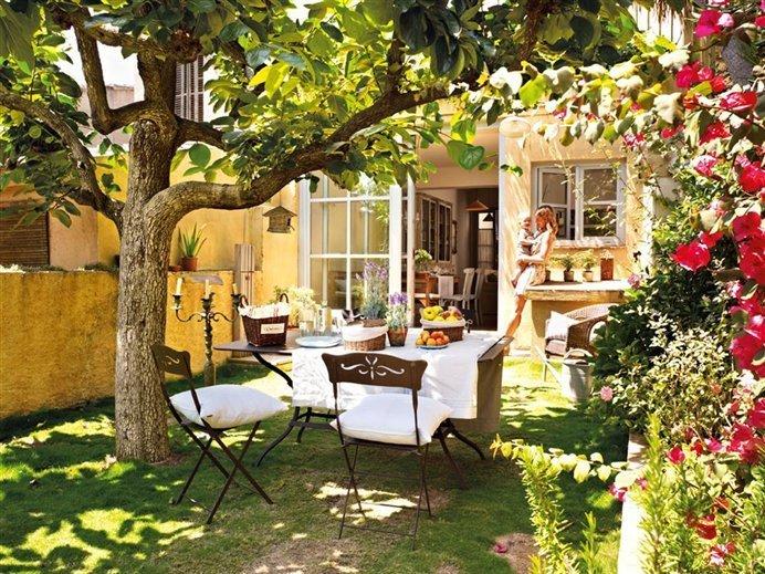decoraci n de jardines rusticos