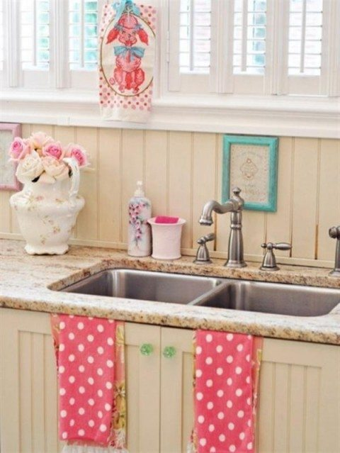 Extraordinary-Sweet-candy-Vintage-Kitchen-Design-Ideas